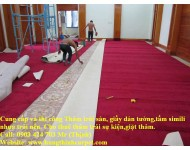 Công trình thi công Thảm Trải Sàn Dinh chủ tịch Tỉnh Tiền Giang