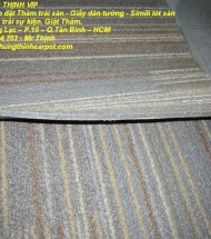 Thảm trải sàn cũ giá rẻ tphcm