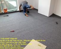 Hướng dẫn các bước thi công thảm trải sàn