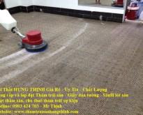 Thi công thảm và giặt thảm trải sàn