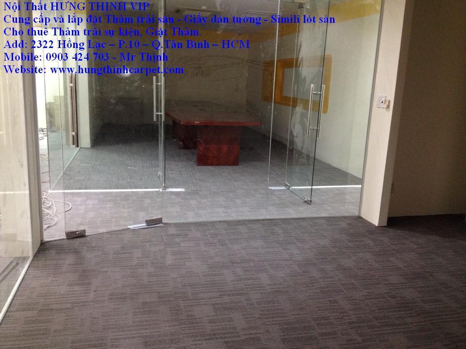 Carpet: cung cấp thảm trải sàn, thảm tấm 50x50cm