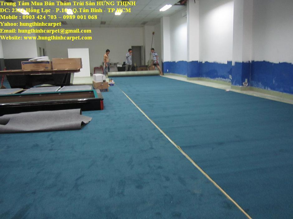 Công trình bán thảm trải Bida, Q.1, TPHCM