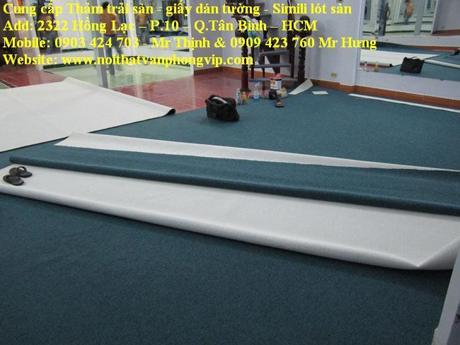 Giá bán và thi công thảm trải sàn TP.HCM