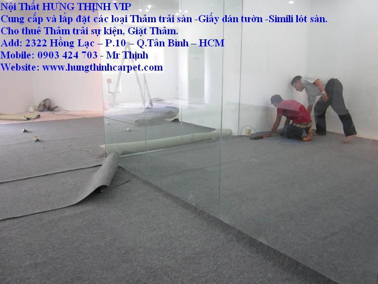 Địa chỉ thi công thảm văn phòng tp.HCM